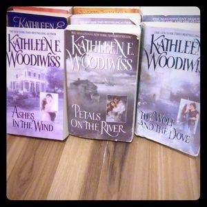 Kathleen E. Woodwiss Romance Novels